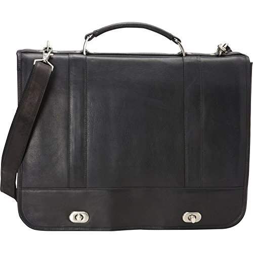 david-king-co-full-flap-turn-lock-briefcase-black-one-size