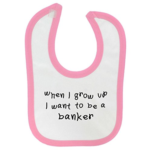 when-i-grow-up-banker-design-baby-bib-pink-contrast-trim-and-black-print
