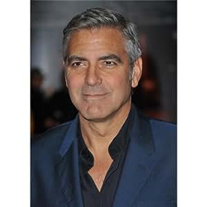 George Clooney (24inch x 34inch / 60cm x 85cm) Silk Print Poster - Seide Plakat - FDAFB8