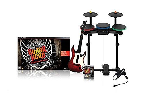 Guitar Hero: Warriors of Rock inkl. Schlagzeug, Gitarre, Mikrofon