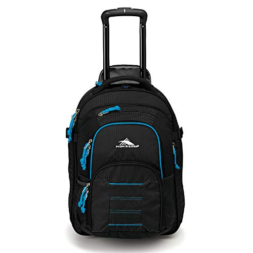 High Sierra Ultimate Access 2.0 Carry On Wheeled Backpack with removable - High Sierra Wheeled Backpack