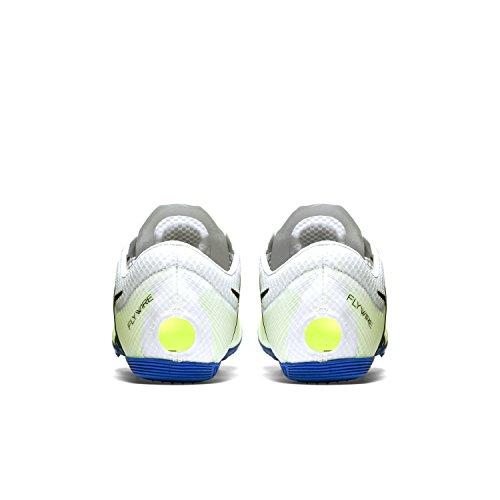 Nike Zoom Victory Elite, Chaussures de Sport Mixte Adulte Blanc / Noir / Bleu (Blanc / Noir-Racer Bleu)