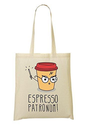 Espresso Frühling (Espresso Patronum! Coffee Tragetasche Einkaufstasche)