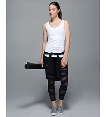 MISHVA HIGH TIMES TECH MESH black crop pants leggings