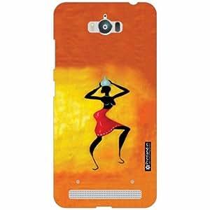 Asus Zenfone Max ZC550KL Back Cover - Silicon Tribal Designer Cases