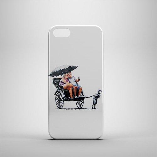 Banksy-Rickshaw Kid iPhone 5/5S