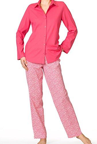 Calida en bloom, durchgeknöpft pyjama pour femme - blueprint