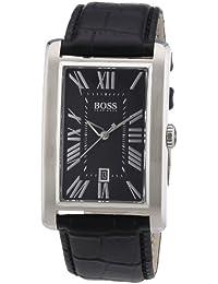 Hugo Boss Herren-Armbanduhr Analog Quarz Leder 1512708