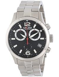 Golana AE200.2 Aero Pro Swiss Made Aviators Chronograph Mens Watch