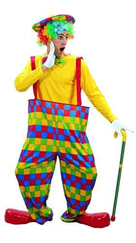 Costume da clown uomo Taglia Unica