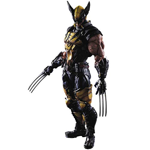 Siyushop Variant Play Arts - Kai - King Kongs Werwolf-Actionfigur - Helden-Actionfigur - Ausgestattet Mit Waffen Und Austauschbaren Händen - 27 cm Hoch