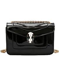 fcccbdb87e886 YYwangpu Damen Quaste Weibliche Tasche Paket Kette Umhängetasche Mini-Tasche  Handtasche