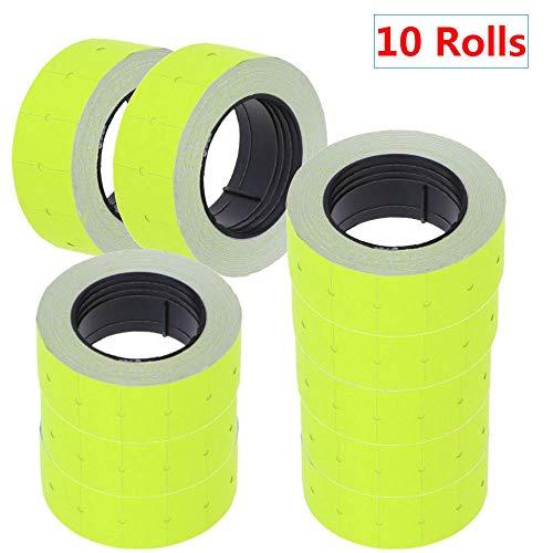 Winnes - 10 rollos papel etiquetas precio Mx-5500