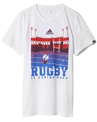 adidas London Shirt Kurzärmelig L weiß