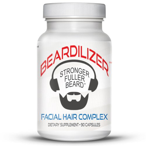 Beardilizer-1-Facial-Hair-and-Beard-Growth-Complex-for-Men-4-Pack-360-Capsules-Powerful-Nutrients-Blend