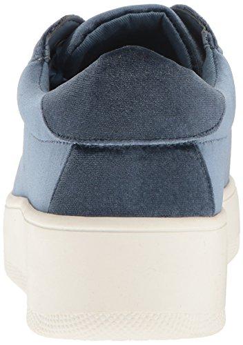 Steve Madden Bertie-m, Chaussures de Basketball femme Light Blue Velvet