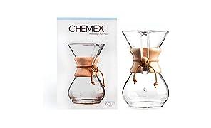 Chemex CM-6A Máquina de café, Vidrio, incoloro
