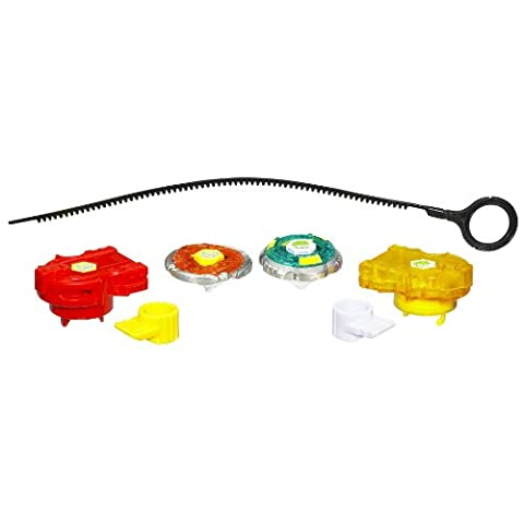 Beyblade Metal Fusion Battle Top Set - Lion Gale Force Wall 2er Pack (145WB + 100F)