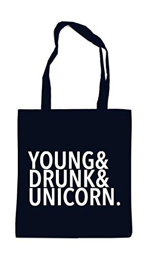 Young Drunk Unicorn Sac Noir Certified Freak