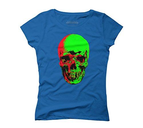 undead Women's Graphic T-Shirt - Design By Humans Royal Blue