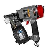 Mauk 2111aria compressa Coil nailer konstruktions Profi chiodatrice pistola sparachiodi MCN 5525-57m, 1V, Multicolore