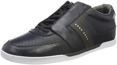 Boss Green Shuttle_Tenn_Lux, Sneakers Basses Homme Bleu (Dark Blue)