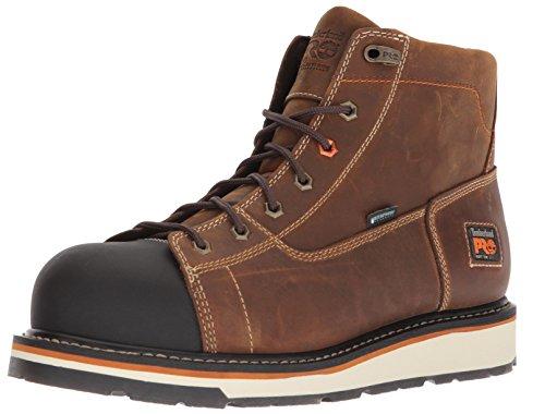 Timberland Pro - Mens 6 in Gridworks Wp Shoe  13 UK  Dark Brown