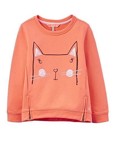 Tom Joule Sweatshirt Katze orange Größe 5-6 Jahre