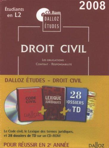 Droit civil 2e année : CD-ROM