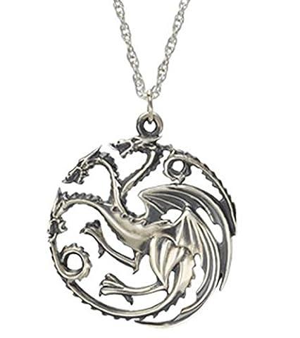 Jeu de Game of Thrones - Daenerys Targaryen Dragon Argent