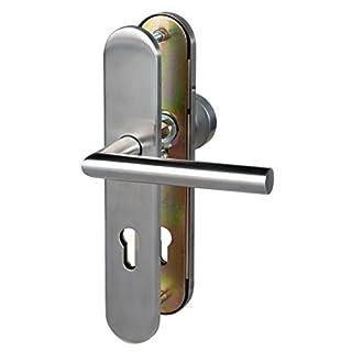 ALPERTEC Moscow II Rosette Ganitur Door Fitting Stainless Steel-From e-Hardware, 28820030B