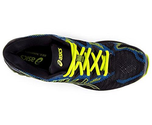 Gel-Nimbus 20, Running Homme, Noir (Black/Sulphur Spring/Victoria Blue 9089), 42 EUAsics