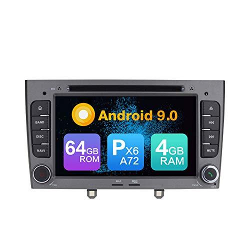 KUNFINE Android 9.0 PX6 Cortex A72 4G Ram 64G ROM Autoradio GPS...