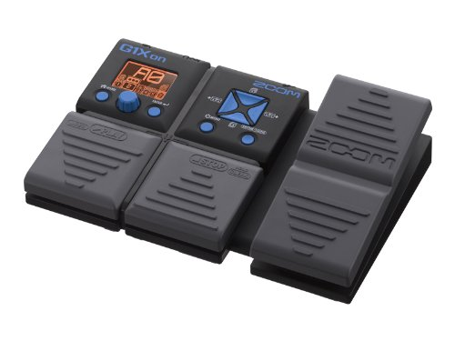 Zoom G1Xon multi effetti a pedale per chitarra con batteria elettronica e looper