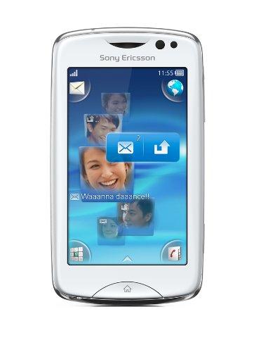 Sony Sony Ericsson Txt pro Smartphone (7,6 cm (3,0 Zoll) Touchscreen, QWERTZ-Tastatur, 3 MP Kamera) weiß