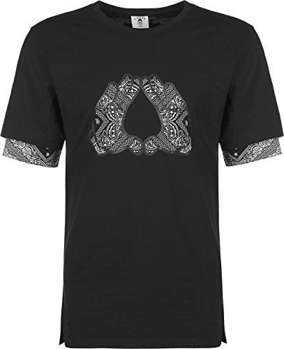 Cayler & Sons Long Broompton T-Shirt Schwarz