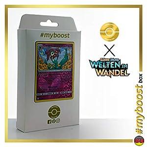 Florges 152/236 Holo Reverse - #myboost X Sonne & Mond 12 Welten im Wandel - Box de 10 cartas Pokémon Alemán