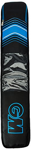 GM 1601286 EW Full Length Cricket Bat Cover, Men's (Blue/Black)