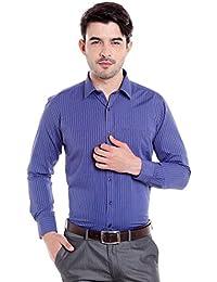 Donear NXG Mens Formal Shirt_SHIRT-1380-BLUE
