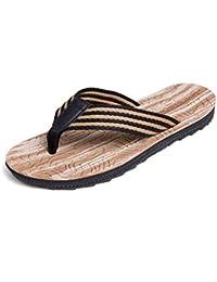 203694ca674 QAR Summer Flip Flops Men s Personality Beach Shoes Soft Bottom Anti-slip  Sandals And Slippers