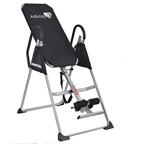 Tabla de inversión - reducir profesional dolor de espalda, el estrés y mejorar la postura y la flexibilidad limitada oferta ** Kemket Inversion Table Talla:1