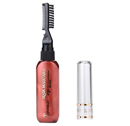 Covermason Haar-Kreide, Haar Colorationen, Haarfärbemittel, ungiftige,waschbare,temporäre Haarfarbe,Pastel Haar Kreide (Rot I)