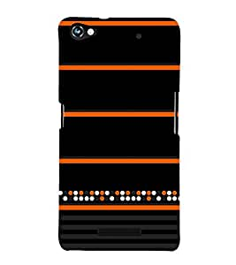 Colorful Dots Pattern 3D Hard Polycarbonate Designer Back Case Cover for Micromax Canvas Hue 2 A316
