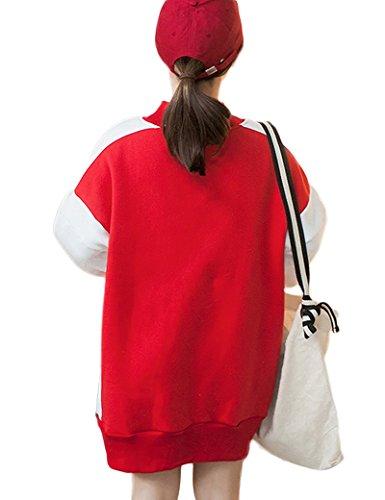 Fanvans - Sweat-shirt - Femme red