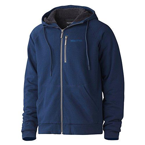 marmot-parsons-peak-sherpa-hoody-men-grosse-m-vintage-navy