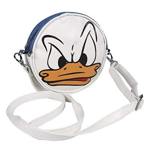 Disney-geschenke Für Mädchen | Runde Tasche Mit Klassischen Figuren Wie Mickey, Dem Kätzchen Marie Der Aristocats, Der Donald Duck Und Den 101 Dalmatinern (Donald Duck) -