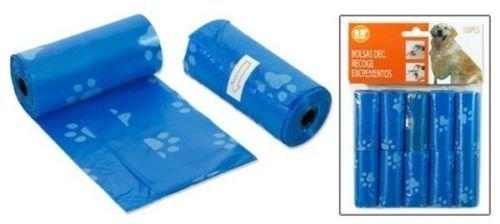 150 Kottüten Kotbeutel Hundekotbeutel Hundebeutel Hunde 10 x 15 Stück blau