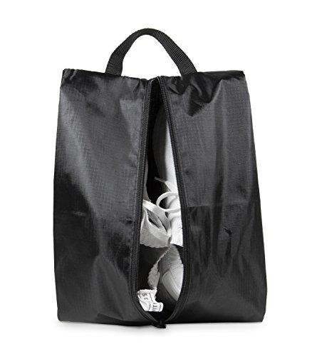 HAUPTSTADTKOFFER - Packhilfe - Reise-Schuhtasche, Reißverschlusstasche, Organizer Tasche für Hemden, Schuhe, Packbeutel, Schuhbeutel ideal für Sport oder zum Reisen, Reisetasche, 23 cm