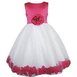 Rose rose et blanche avec rose et pétales