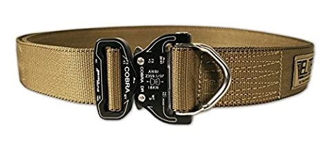 Elite Survival Systemen Cobra Rigger Belt mit D Ring Schnalle M Coyote Tan